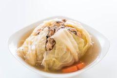 Суп заполненной капусты Стоковая Фотография