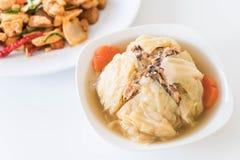 Суп заполненной капусты Стоковые Изображения