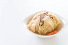 Суп заполненной капусты Стоковое Изображение