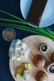 Суп имбиря и гриба Shitake Стоковая Фотография