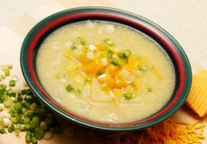 суп картошки Стоковое фото RF