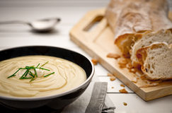 Суп картошки Стоковые Фото