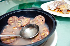 суп корня лотоса Стоковая Фотография