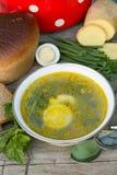 Суп крапивы Стоковое Изображение