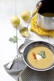 Суп красной чечевицы Стоковая Фотография