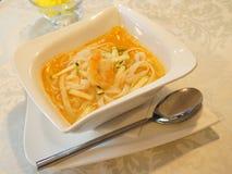 Суп креветки стоковые изображения