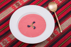 Суп клубники с плодоовощ Стоковые Фото