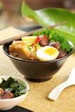 суп лапши гриба цыпленка стоковые фотографии rf