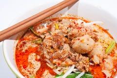 суп лапши тайский Стоковая Фотография