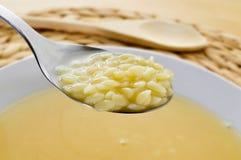Суп макаронных изделий Стоковое фото RF