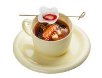 Суп мисо стоковое изображение