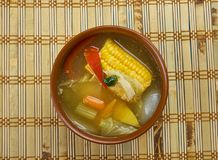 Суп мозоли Тринидада Стоковые Изображения