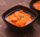 Суп морковей Стоковое фото RF