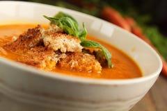 суп моркови Стоковые Изображения
