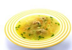 суп мяса шара Стоковые Фотографии RF