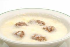 суп мяса шариков Стоковая Фотография