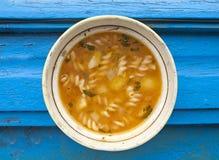 Суп овощей Deliciuous стоковое изображение rf