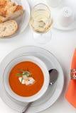 Суп омара Стоковые Изображения RF