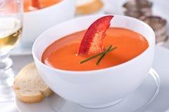 Суп омара стоковые изображения