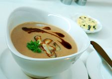 Суп от каштанов Стоковые Фотографии RF