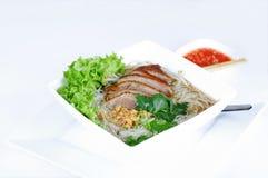 суп Пекин лапши утки стоковое изображение rf