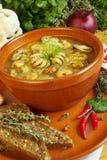 суп продуктов моря стоковые изображения