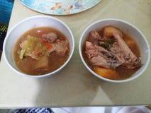 суп ресторана еды цыпленка китайский стоковые фотографии rf