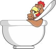 суп ресторана еды цыпленка китайский Стоковые Изображения