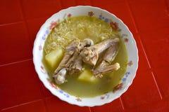 суп ресторана еды цыпленка китайский Стоковые Фото