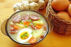 суп рожи кислый Стоковое Изображение
