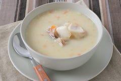 суп рыб стоковое изображение