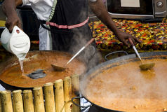 суп рынка Стоковая Фотография RF