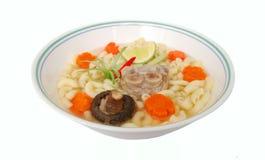 суп свиньи лапши Стоковое Изображение RF