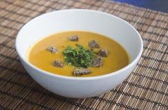 суп середины чечевицы восточной еды ливанский Стоковое Изображение