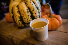 Суп сквоша Butternut Стоковое Изображение RF