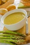 суп спаржи Стоковое фото RF