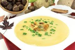 Суп сладостного каштана Стоковая Фотография