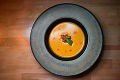 Суп с картофельными пюре Стоковые Изображения