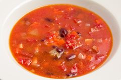 Суп с фасолями Стоковые Изображения