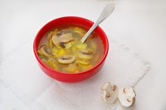 Суп с champignons Стоковая Фотография
