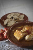 Суп томата с тресками Стоковое фото RF