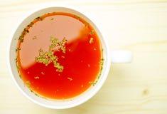 Суп томата Стоковое Фото
