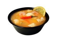 Суп Тома yum стоковая фотография