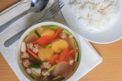 Суп тофу Стоковые Изображения RF