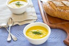суп тыквы шара стоковое изображение rf