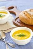 суп тыквы шара стоковая фотография rf