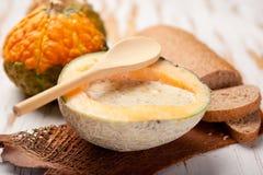 суп тыквы Стоковые Изображения