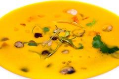 Суп тыквы Стоковое фото RF