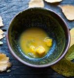 Суп тыквы Стоковая Фотография RF