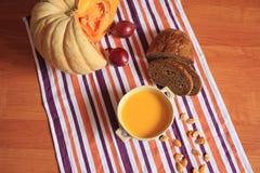 Суп тыквы cream Стоковые Фото